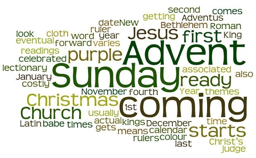 the calendar year starts on 1st january but for the church its new year starts on advent sunday the fourth sunday before christmas
